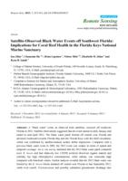 Satellite-Observed Black Water Events off Southwest Florida: Implications for Coral Reef Health in the Florida Keys National Marine Sanctuary
