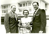Kenneth R. Williams, Adelaide Snyder, and Tom Fleming