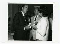 Haydon Burns, Kenneth R. Williams, and unidentified woman
