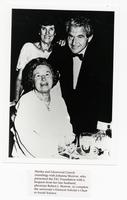 Martha and Glenwood L. Creech with Johanna Morrow