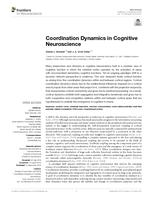Coordination Dynamics in Cognitive Neuroscience