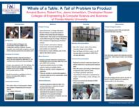 Whale of a Table: A Tail of Problem to Product