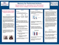Memory for Performed Actions