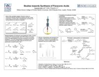 Studies Towards Synthesis of Paraconic Acids