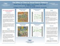 The Effect of Time on Visual Search Patterns