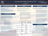 The American Family…As Seen on TV?