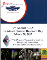 Third Annual GSA Graduate Student Research Day
