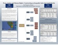 Peace, Justice and Human Rights: Constructing an Inequality Index for South Florida