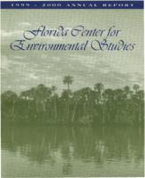 Florida Center for Environmental Studies Annual Report 1999-2000
