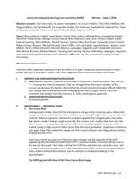 University Undergraduate Programs Committee Minutes 2016-04-01