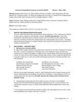 University Undergraduate Programs Committee Minutes 2017-05-01