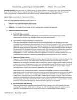 University Undergraduate Programs Committee Minutes 2013-11-01