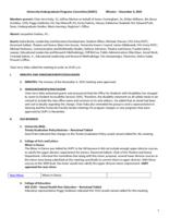 University Undergraduate Programs Committee Minutes 2015-12-04