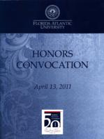 Florida Atlantic University Honors Convocation 2011-04-13