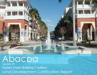 Abacoa Land Development Certification Report