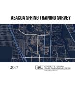 Abacoa Spring Training Survey