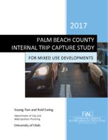 Palm Beach County Internal Trip Capture Study for Mixed Developments