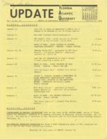 Update Florida Atlantic University, 1970-01-15