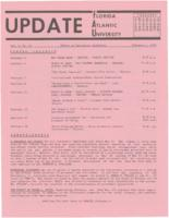 Update Florida Atlantic University, 1970-02-01
