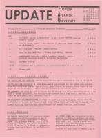 Update Florida Atlantic University, 1970-06-01