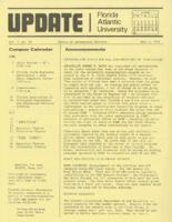 Update Florida Atlantic University, 1974-06-01