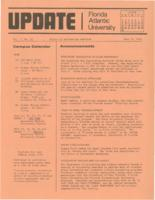 Update Florida Atlantic University, 1974-06-15