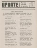 Update Florida Atlantic University, 1974-06-07