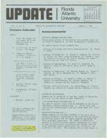 Update Florida Atlantic University, 1974-08-01