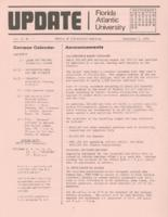 Update Florida Atlantic University, 1974-09-01