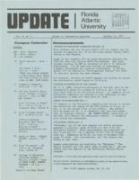 Update Florida Atlantic University, 1974-10-15
