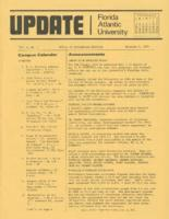Update Florida Atlantic University, 1974-11-01