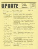 Update Florida Atlantic University, 1974-11-15
