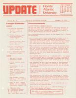 Update Florida Atlantic University, 1974-12-15