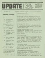 Update Florida Atlantic University, 1974-7-01