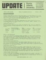 Update Florida Atlantic University, 1975-01-01