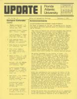 Update Florida Atlantic University, 1975-02-01
