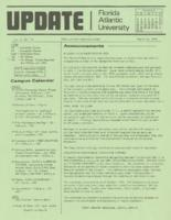Update Florida Atlantic University, 1975-03-15