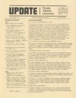 Update Florida Atlantic University, 1975-05-15