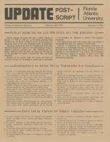 Update Florida Atlantic University, 1977-12-09