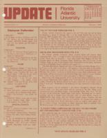 Update Florida Atlantic University, 1978-02-01