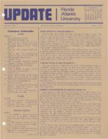Update Florida Atlantic University, 1978-03-01