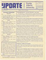 Update Florida Atlantic University, 1978-07-15