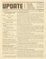 Update Florida Atlantic University, 1978-08-15