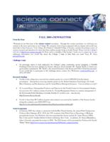 FAU Charles E. Schmidt College of Science eNewsletter Science Connect, 2009