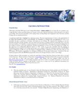 FAU Charles E. Schmidt College of Science eNewsletter Science Connect, 2010 Fall