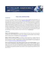FAU Charles E. Schmidt College of Science eNewsletter Science Connect, Winter 2012