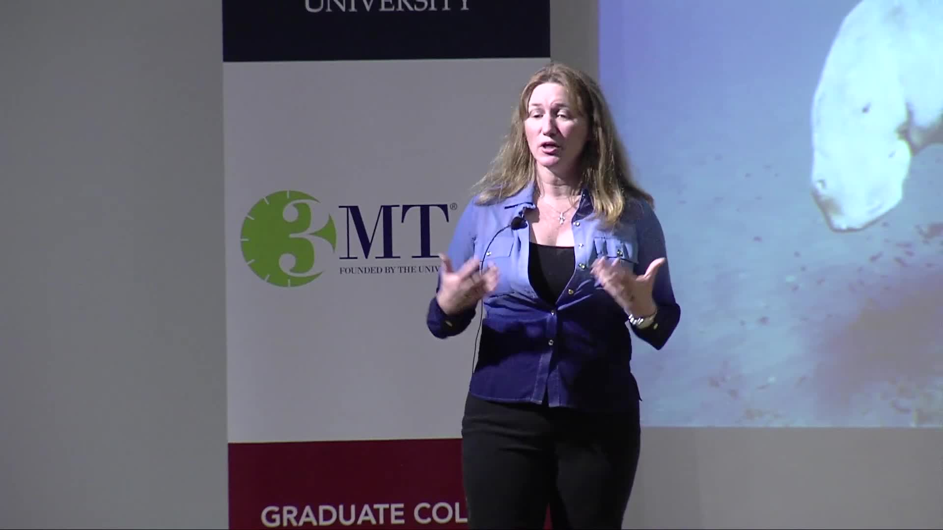 Florida Atlantic University 2018 3MT® Three Minute Thesis Championship - Beth Brady