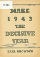 Make 1943 the decisive year