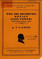 Will the Bolsheviks retain state power?