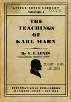 The teachings of Karl Marx